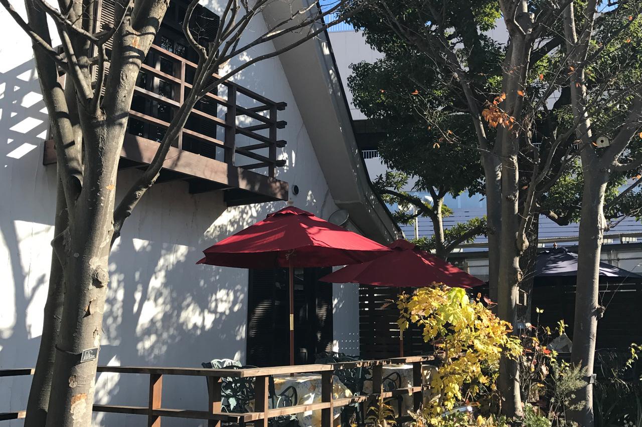 江田国道246号線沿いレストラン『木かげ茶屋』